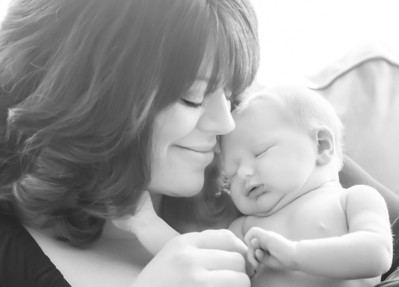mom and babe bw (1 of 1)