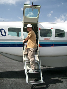 Small Aircraft Travel In Botswana, Africa