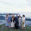 Pam and Ryan's wedding ceremony July 5, 1979, was on Pillar Mountain overlooking the town of Kodiak and nearby islands.