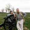 Anne and I at Manassas.