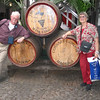 On our first transatlantic cruise, we visited a Maderia winery in Funchal.
