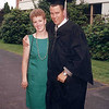 Son John and his wife, Molly, at John's Washington State University graduation.