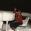 My sister Caroline McCullam during blizzard of 1998.