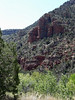 Our first view of some red rocks.  Much more to follow.