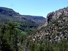We started from the top of this canyon, in the upper left-hand corner of this photo.