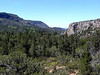 This view, to our left as we descended, is of the canyon that contains Fossil Springs.