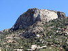 The big rock face on Granite Mountain.