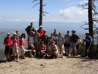 Green Mtn to Guthrie Mtn Summit, 8-28-10