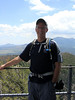 Me, on the deck of the fire tower