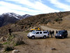 The trailhead parking area...we made it!