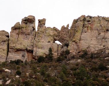 Window Rock Hike, 2-26-11