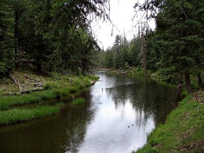 Woods Canyon Lake Hike, 6-13-09