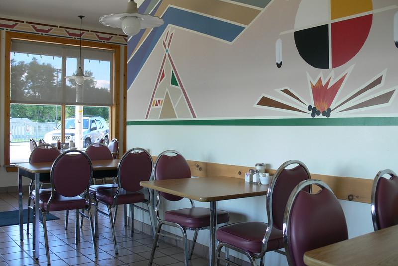 """""""old railway stop"""" <br /> - das restaurant, in das wir nachmittags einkehren"""