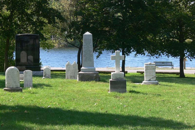 kirchfriedhof am otonobee river