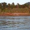Kids playing and bathing in the Mekong