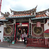 Entrance to the Cheng Hoon Teng temple, the oldest in Malaysia