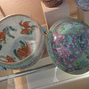 Nyonya ceramics.  You can distinguish them from other Chinese ceramics by the interesting and bright colors.