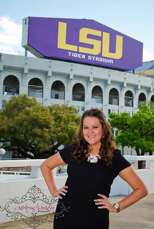 Melanie Schittone- LSU Grad
