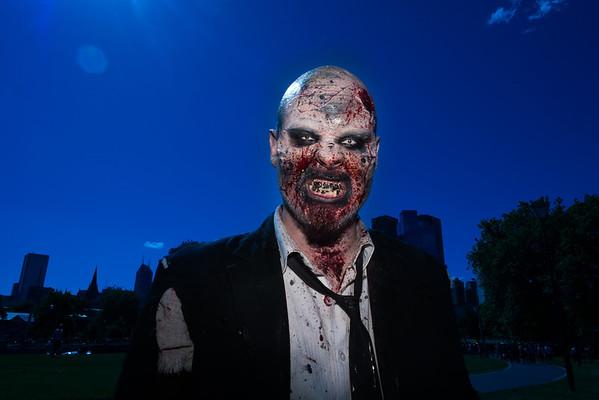 melbourne zombie walk