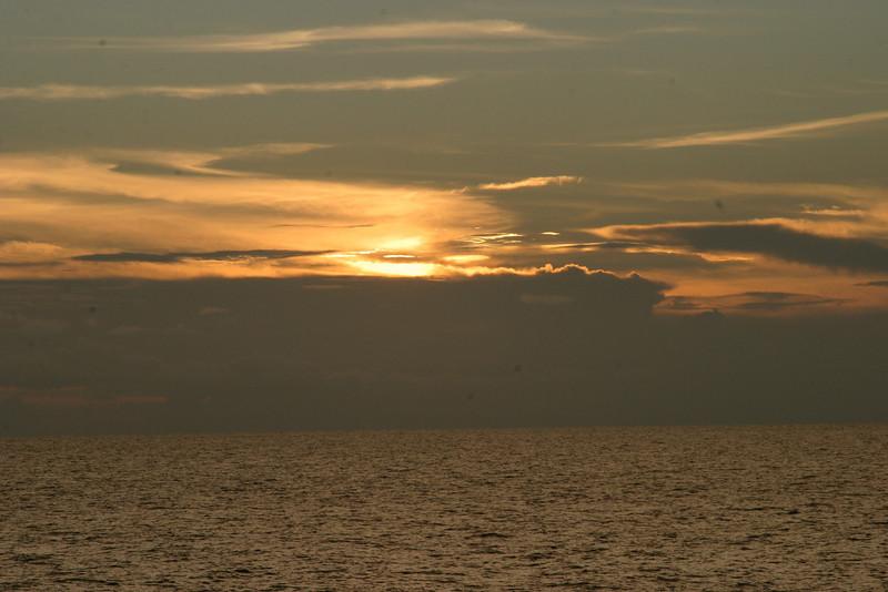 Sunset at Sharky's