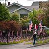 Memorial Day Display, Seattle WA