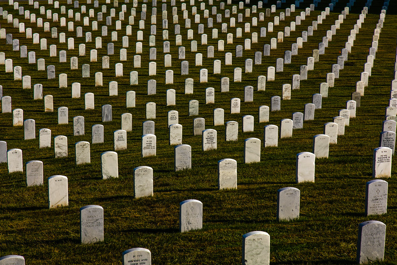 Breath taking number of graves