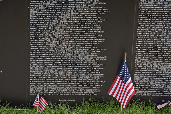 Memorial Day at WWI Museum & Traveling Vietnam Wall
