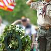Memorial Day saluting