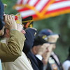 老兵的敬礼。Veterans' Saluting