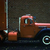 Another truck parked at the farm, East Grand Forks, MN c.1957/1958