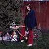 A bike for Christmas!  Just what I wanted :)  Judging from the length of my hair, this is probably Christmas 1971
