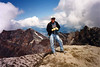 MOUNT ST HELENS SOLO SHOT - 1995 I've always loved this photo of me, especially since it's the very first one of me summiting <i>any</i> mountain. What a great backdrop!