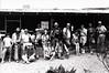BIG BEND PHOTO WORKSHOP 1986 GROUP SHOT<br /> Homer Wilson Ranch, Big Bend National Park, Texas