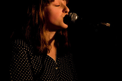 Memoryhouse had a hit-and-miss show at the Larimer Lounge on Monday. Photos by Lisa Higginbotham, heyreverb.com.