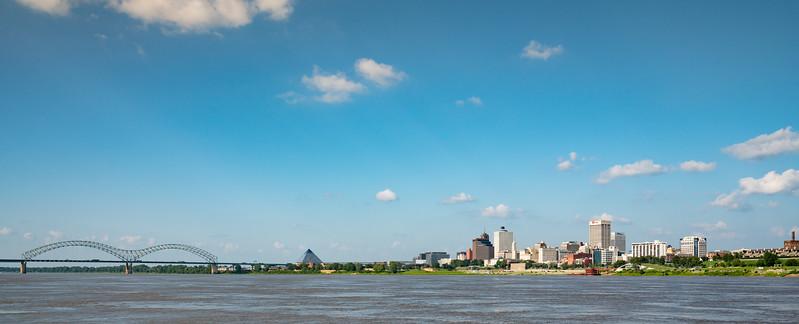 Memphis TN Skyline - July 2017
