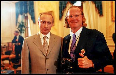 Peter and Vladimir Putin