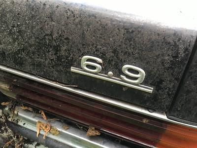 Mercedes 6.9 Barn find