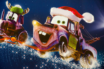 Mater is really getting into the spirit!