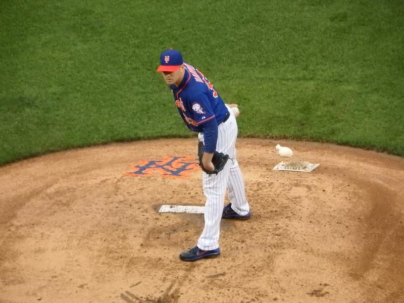 Mets starting pitcher - Matt Harvey