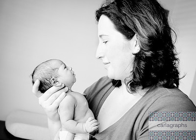 Mom and Babe 2 crop bw (1 of 1)