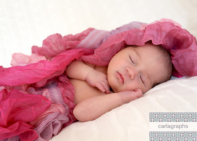 Mia in Pink Ruffle (1 of 1)