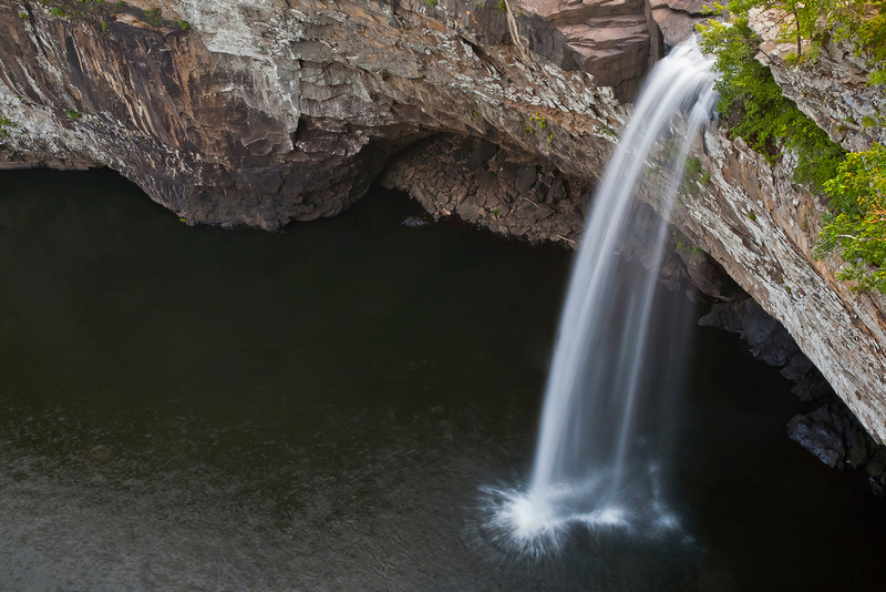 Desoto Falls -  Different shot perspective