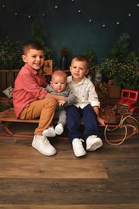 Michael, Lucas and Matthew