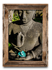 Buddha and Crystal<br /> 10 x 20 Canvass   $75.00