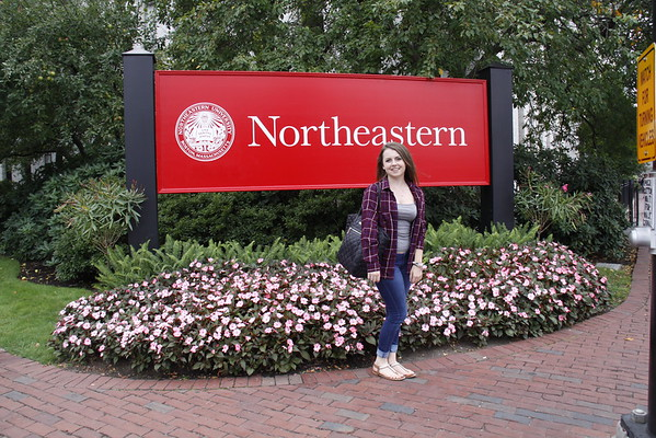 Michelle Moving into Northeastern 9-4-15