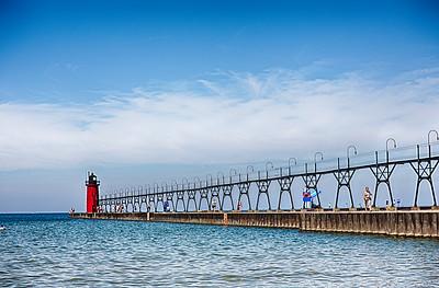 Michigan Sunny Lighthouse (1 of 1)
