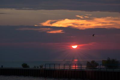 Michigan sunset (1 of 1)