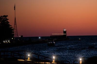 Michigan sunset lights (1 of 1)