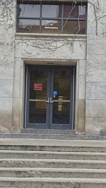 University of Michigan Math Department.