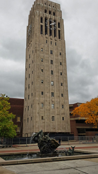 Burton Memorial Tower at the University of Michigan.